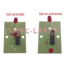 CIRCUITO PULSADOR 1 MICRO + 2 LUMINOSOS 24V