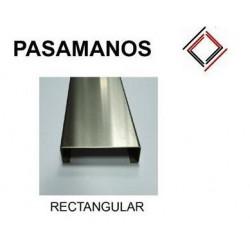 PASAMANOS RECTANGULAR INOX...
