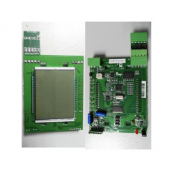 DISPLAY LCD VIA SERIE CON PLAFON