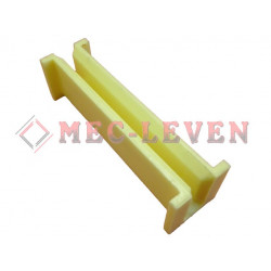 ELEVATOR GUIDE SHOE L-110MM - 8MM GUIDE