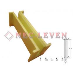 ELEVATOR GUIDE SHOE L-113 - 9MM GUIDE - CAUSI TYPE