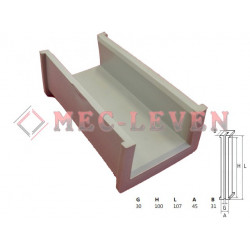 ELEVATOR GUIDE SHOE L-107 - 30MM GUIDE - R30 TYPE