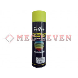 SPRAY MARCAJE CABLES AMARILLO FLUORESCENTE 500ML